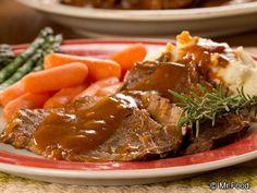 Slow Cooker Country Pot Roast | mrfood.com