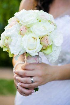 Pretty in Pastels - Kleinevalleij {Real Wedding} | Confetti Daydreams - Pastel Rose Bridal Bouquet ♥ #Kleinevalleij #Wedding #Pastel #Whimsical ♥  ♥  ♥ LIKE US ON FB: www.facebook.com/confettidaydreams  ♥  ♥  ♥