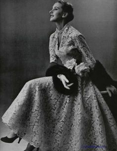 Couture Allure Vintage Fashion: Weekend Eye Candy - Pierre Balmain, 1953