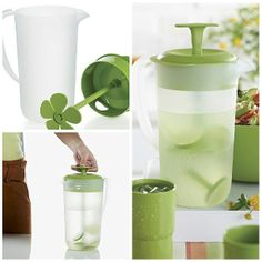 Blend up a refreshing Strawberry Green Iced Tea in your Essentials Stirring Pitcher! Add 8 oz. hulled and quartered strawberries, 2 tbsp. lemon juice, 3 tbsp. honey, 1 sprig mint leaves, and 4 cups of chilled green tea to your pitcher and blend together. Simple, right? http://www.my2.tupperware.com/juanitafaulkner
