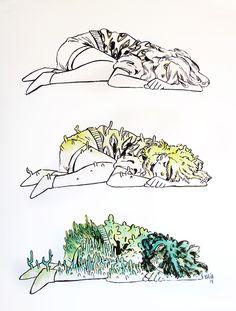 Foliaxe by Xulia Vicente, via Behance