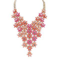 eu de la mujer&Nos moda capas exquisitos lindos florales hermoso collar de la declaración del babero (más colores) (1 pc) – EUR € 13.92