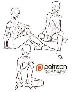 Sitting reference sheet -PREVIEW- | kibbitzer on Patreon