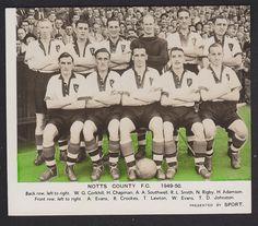 Sport Magazine - Football Team Groups 1949/50 - Notts County