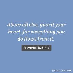Rick Warren Quotes, Pastor Rick Warren, Faith Quotes, Bible Quotes, Bible Verses, Purpose Driven Life, Proverbs 4, Guard Your Heart, Bible Truth