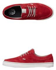 ELEMENT TOPAZ C3 TRAINERS - RIO RED on http://www.surfstitch.com