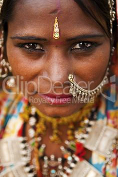 Indian woman - royalty-free photo starting at $2.57