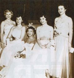 Miss University of Chicago 1954