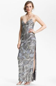 Sean Collection Sequin Silk Gown (Online Exclusive) available at #Nordstrom
