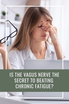 research has been published that may bring us a little closer to identifying the culprit responsible for causing chronic fatigue syndrome – the vagus nerve Chronic Fatigue Syndrome, Chronic Illness, Chronic Pain, Women's Health, Health Tips, Neck Problems, Computer Lessons, Vagus Nerve, Gut Microbiome