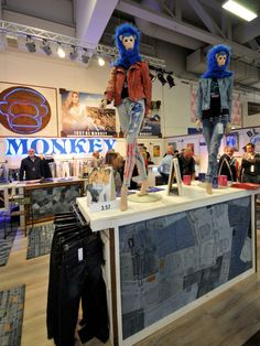 BLUE MONKEY at PANORAMA, Berlin, Germany, pinned by Ton van der Veer