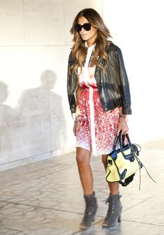 Fashion Week Street Style 2013: Go Bold With Big Prints For Day 4 (PHOTOS)