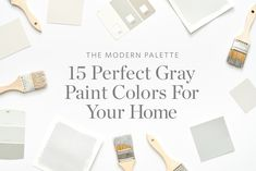 4 Charming Tips: Interior Painting Colors Bedroom interior painting diy living rooms.Interior Painting Doors Before And After interior painting palette bedrooms.Interior Painting Tips Coats. Best Gray Paint Color, Grey Wall Color, Neutral Paint Colors, Wall Colors, Exterior Paint Colors For House, Paint Colors For Home, House Colors, Exterior Colors, Best Interior Paint