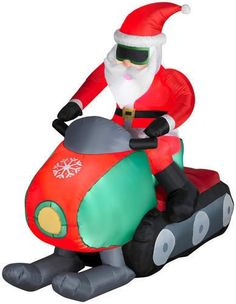 John Deere Inflatable Christmas Decorations