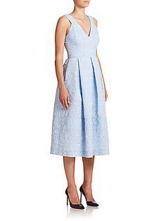 Erdem Fabrizia Cloque Dress