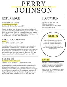 Resume Layout Tips Brilliant Living On The Chic Business And Professional Resume Design Tips .