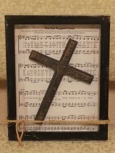 The Old Rugged Cross background is placed in a by comfyhomedecor, $40.00