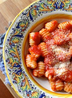 gnocchi with Sicilian oxtail tomato sauce