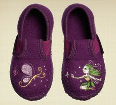 4fc22c66b6c816 Girl s adorable Giesswein Boiled Wool Slippers for those chilly nights.  www.lalapatoot.com