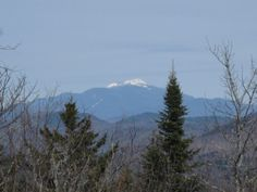 Mt. Algonquin in the Adirondacks. New York's second highest peak. One of the hardest things I've ever done was to snowshoe to the summit.