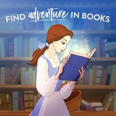 Disney books, of course!