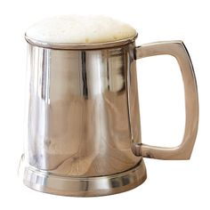 Fine beer mugs and pilsner glasses for the enjoyment of specially crafted brews, for everyday use and special occasions. Mint Julep Cups, Wine Wednesday, Beer Mugs, Beer Lovers, Gifts For Father, Stainless Steel, Glasses, Accessories, Groomsmen