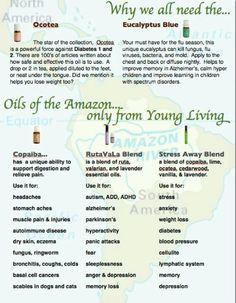 Oils of the amazon