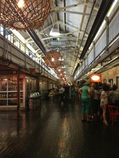 Chelsea Market ... how long has it been there?  Visited for the very first time last summer after growing up in NYC.  I've been away a long time!