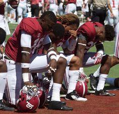 Praying....not protesting