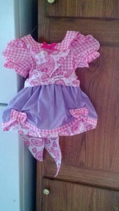 Girls' Cowgirl Dress by DelilahDesigned on Etsy