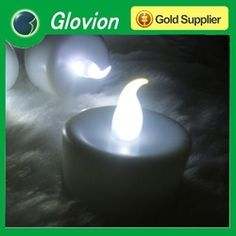 2012 hot sale rechargeable led white candle led flameless candle Rechargeable LED Candle