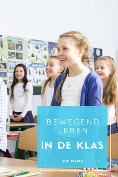 Bewegend leren: werkt het? En tips voor in de klas Educational Leadership, Educational Technology, Visible Learning, School Info, School Ideas, Co Teaching, Classroom Board, Learning Quotes, Mobile Learning