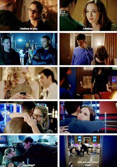 Olicity and Snowbarry parallels
