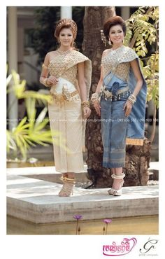 Cambodia wedding dress
