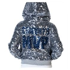 1d06dc574 Dallas Cowboys PINK MVP Sequined Full Zip Hoodie