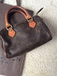 Louis Vuitton Mini Speedy Monogram Baguette. Get the trendiest Clutch of the season! The Louis Vuitton Mini Speedy Monogram Baguette is a top 10 member favorite on Tradesy. Save on yours before they are sold out!