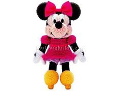 Minnie Mouse Amigurumi Crochet PDF Pattern in by MyLovelyDoll, $5.00