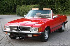 1972 Mercedes | Mercedes-350-sl-1972-rot-l : R107 : Mercedes SL : #203112612