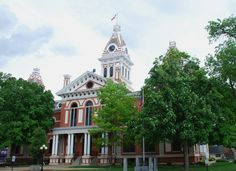 """"""" Livingston County Courthouse """" in Pontiac Illinois  http://route66jp.info Route 66 blog ; http://2441.blog54.fc2.com https://www.facebook.com/groups/529713950495809/"""