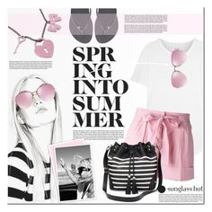 """""""Shades of You: Sunglass Hut Contest Entry"""" by anna-anica on Polyvore featuring Madewell, Havaianas, Miu Miu, Free People, Twin-Set, Apt. 9, Sweet & Co. and shadesofyou"""