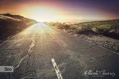 The road by Alberto Suárez on 500px