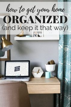Have a hard time keeping your home organized? Here are 10 tips, tricks, and habits to implement in your home to help you keep it organized without even thinking about it!