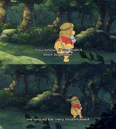 MickeyMeCrazy Disney Winnie the Pooh Winnie The Pooh Quotes, Disney Winnie The Pooh, Disney Love, Disney Magic, Disney Pixar, Disney Stuff, Eeyore, Tigger, Childhood Tv Shows
