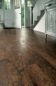 Karndean wood flooring - Hickory Nutmeg by @KarndeanFloors available from Rodgers of York #flooring #interiors