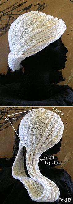 Turbante di lana