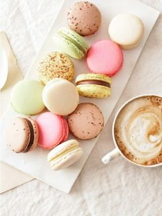 Macarons. Well, the truth is, I haven't had one yet. But I'm planning on buying some next week. I'm sure they'll taste wonderful.