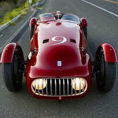 megadeluxe:  The Look at the Rare & Racy … Nardi-Danese 6C 2500 Alfa Romeo Circa '48 One of only three ever made by Enrico Nardi a test driver and engineer at Lancia and for Scuderia Ferrari. This models for the 1948-49 Mille Miglia and Targa Florio races. One piece of that legacy is this Exotica machine … by gentlemanmodern http://ift.tt/1GvgVR6