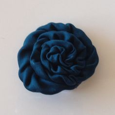 CLOSEOUT SALE 1.5 Dark Teal Petite Mini Satin Rolled by BBBSupply
