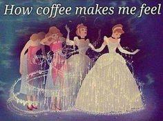 How coffee makes me feel...☕