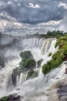 Iguazu Falls, Argentina by Kent DuFault**want. To. Visit. This. Place. !